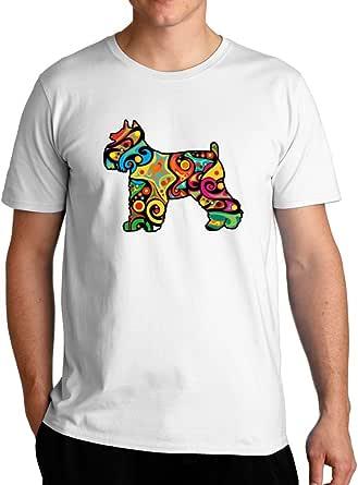 Eddany Psychedelic Schnauzer T-Shirt