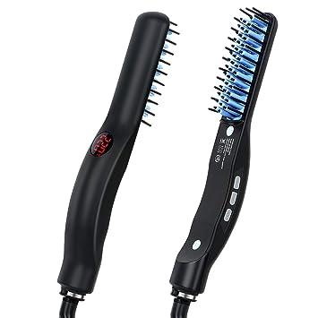 Peine alisador de pelo para barba para hombre, cepillo de ...