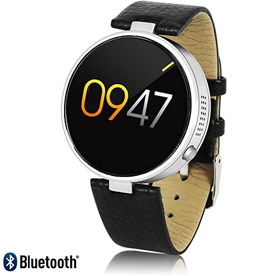 Amazon com: Bluetooth SmartWatch by Indigi for iPhone