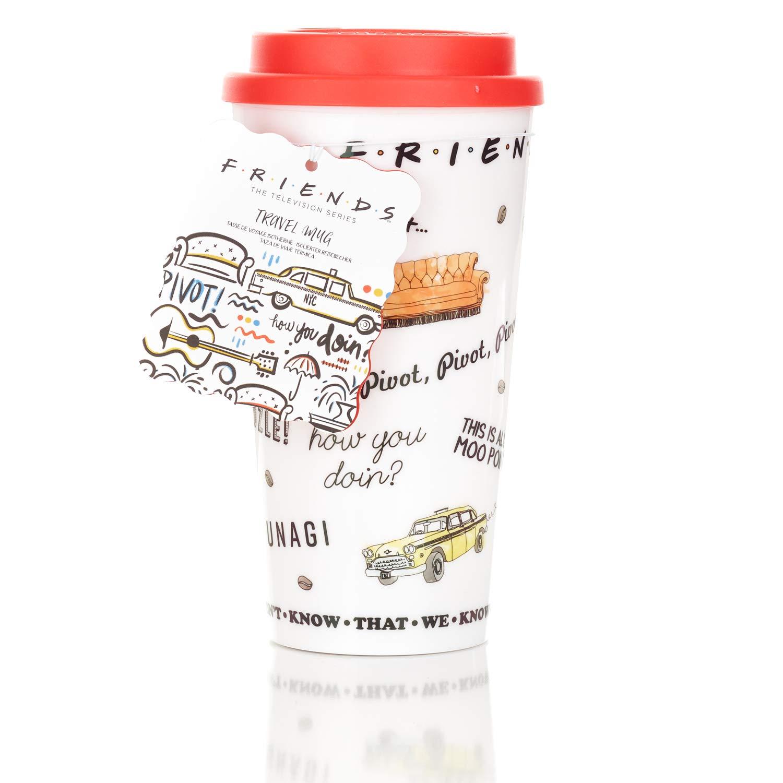 ویکالا · خرید  اصل اورجینال · خرید از آمازون · Paladone Friends Central Perk Coffee Cup Travel Mug wekala · ویکالا