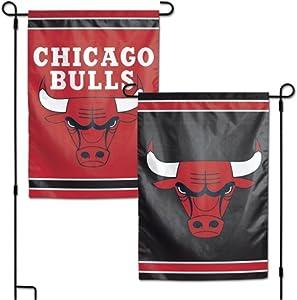 "WinCraft NBA Chicago Bulls 12.5"" x 18"" Inch 2-Sided Garden Flag Logo"