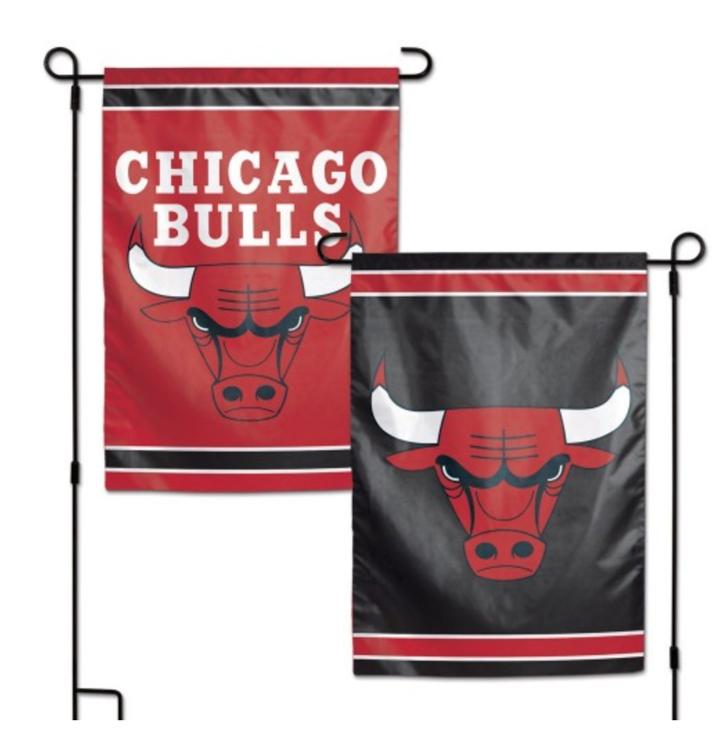 WinCraft NBA Chicago Bulls 12.5'' x 18'' Inch 2-Sided Garden Flag Logo