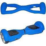 icase4u® 6.5 Pulgadas Protector Cubierta Funda de Silicona para Hoverboard Smart Scooter Balance Patinete Electrico Dos Ruedas