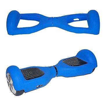 icase4u® 6.5 Pulgadas Protector Cubierta Funda de Silicona para Hoverboard Smart Scooter Balance Patinete Electrico Dos Ruedas (Azul): Amazon.es: Deportes y ...