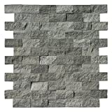 #7: Art3d Natural Stone Mosaic Tile for Kitchen Backsplashes or Exterior Decoration (4 Pack)