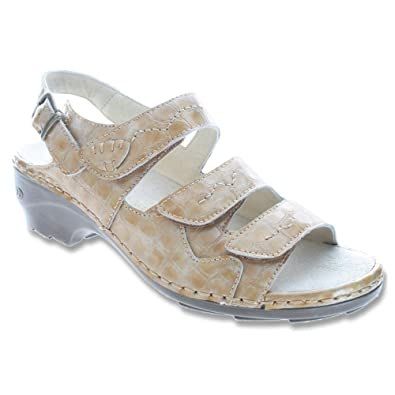 Women's Ankle Strap Sandals For Sale Spring Step Women Benicia Tan Leather BENICIA T On Sale