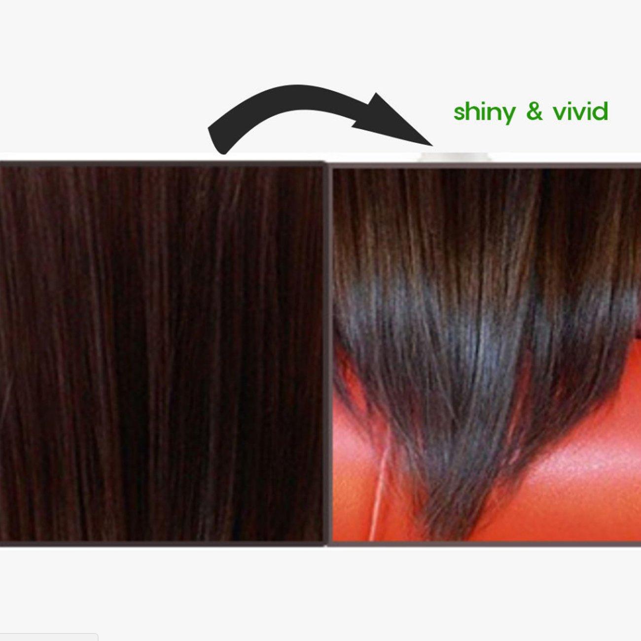 Hair Manicure Polish Color ESPESSO PLUS 50ml Diamond Powder Dark Brown Coating with Color K-Beauty MI Korea by ESPESSO PLUS (Image #3)