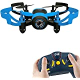AICase® Mini RC Quadcopter Drone, 2.4Ghz 6-Axis Gyro 4 Channels JXD 512V Helicopter Headless Mode UFO With 0.3MP Camera, Yellow Bee