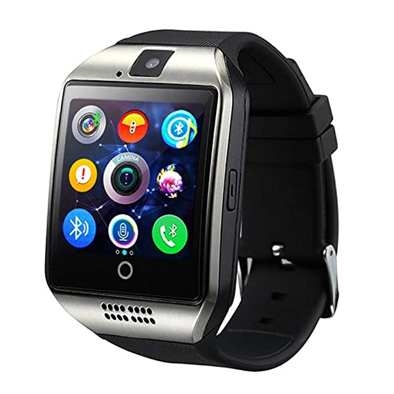 Amazon.com: Beauty-OU Bluetooth Smart Watch Q18 with Camera ...