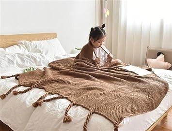Jingyu Bequeme Sofa Dekoration Decke Faul Casual Decke Home