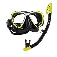 Maskenset Synergy Twin Maske und Spectra Dry Schnorchel von Scubapro in Bomotabag