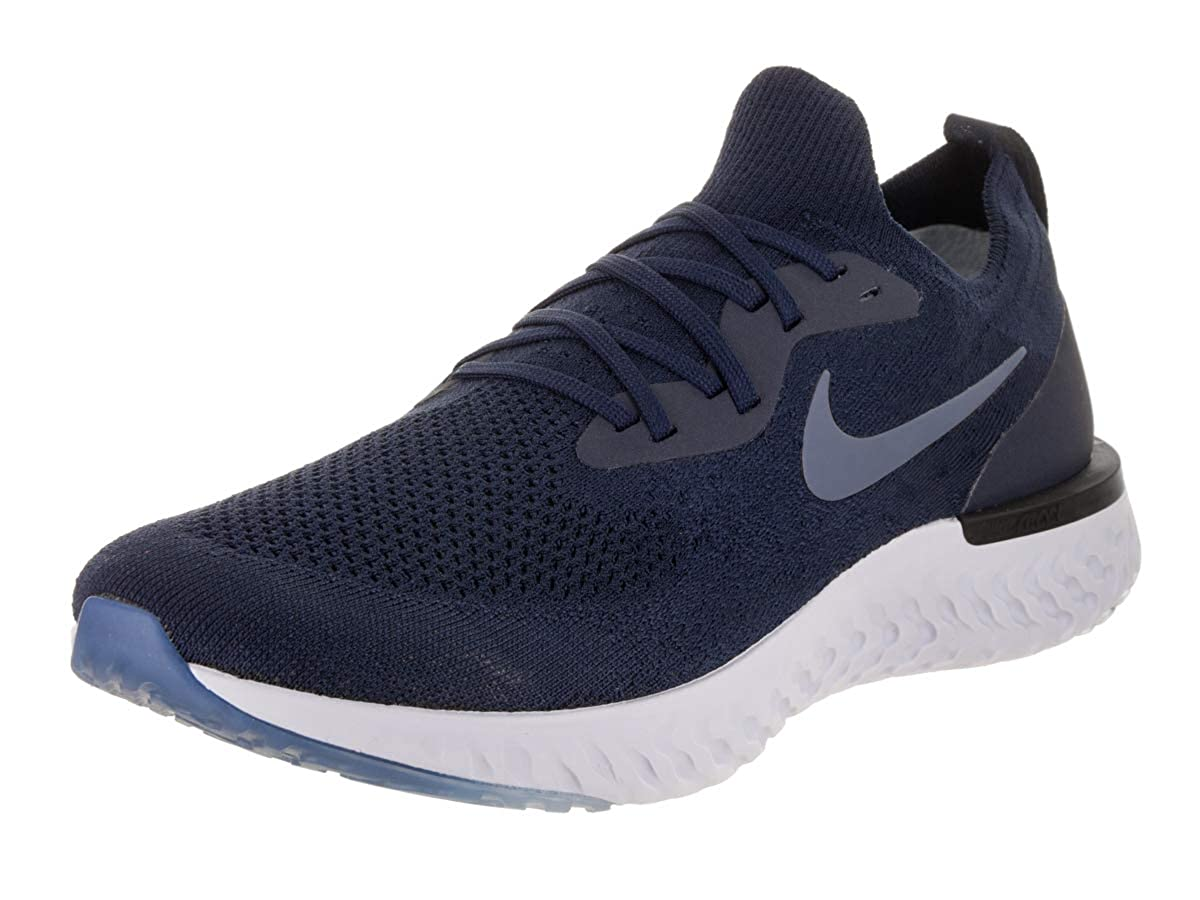 MultiCouleure (College Navy Diffused bleu Football gris 402) Nike Epic React Flyknit, Chaussures de Running Compétition Homme 48.5 EU