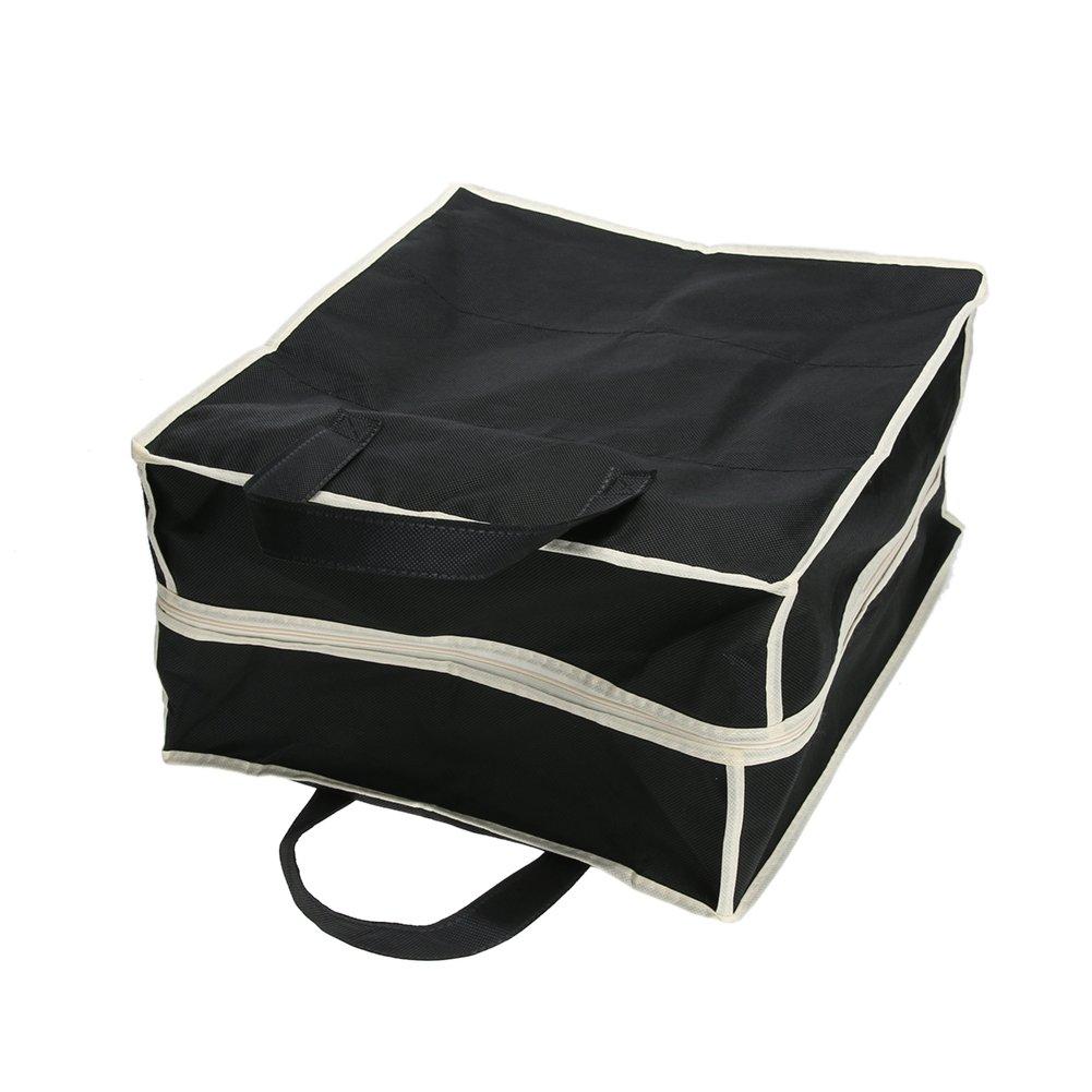 Negro Bolsa de Almacenamiento para Zapatos de 6 Rejillas de Tela no Tejida port/átil Globeagle