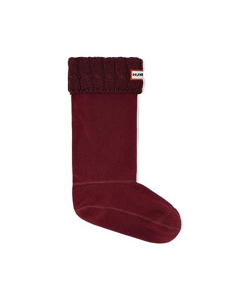 Calcetines Hunter, altos, originales, térmicos, para botas, unisex, adultos, 15 cm, color, talla 6/8 UK: Amazon.es: Zapatos y complementos