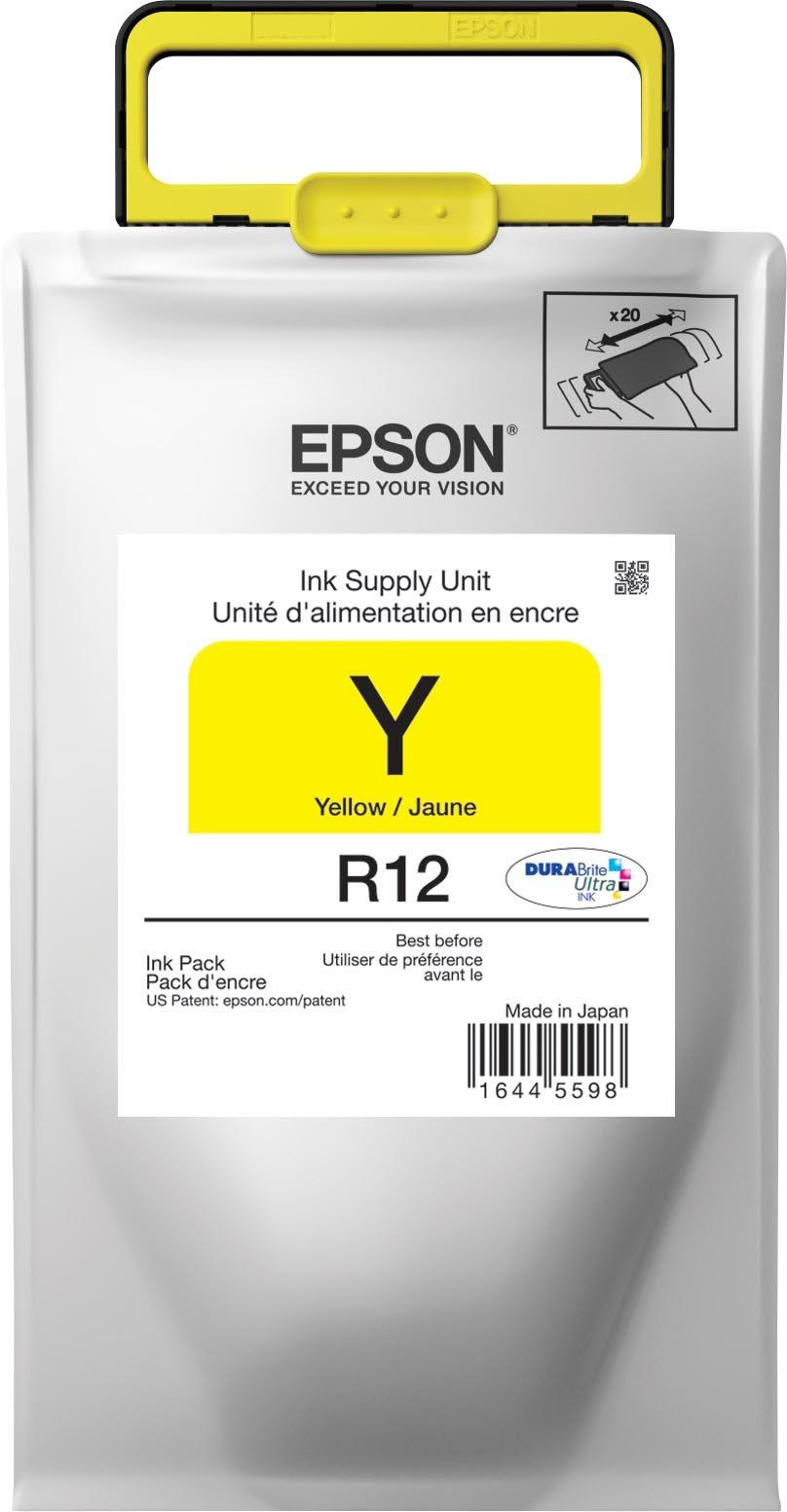 Epson DURABrite Ultra Standard Capacity, Yellow Ink (TR12420) by Epson