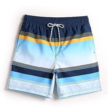 OME&QIUMEI Pantalones Cortos De Playa De Verano para Hombres ...