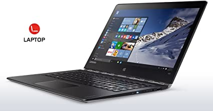 Lenovo ThinkPad Yoga 900 13.3-Inch Laptop (Intel Core i7 6th Gen 2.5GHz Processor,8GB RAM, 512GB SATA SSD, Windows 10 Home 64) Silver