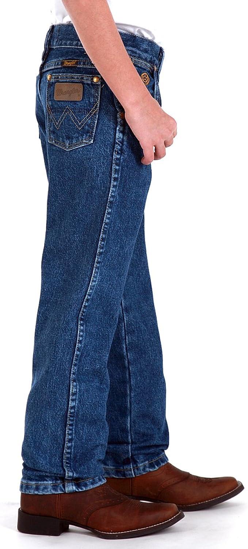 Amazon Com Wrangler Boys Original Cowboy Cut George Strait Jeans Toddler Wrangler Jeans Clothing