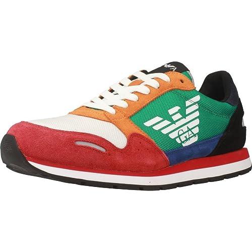 5e5311a63cb Emporio Armani Sneakers Uomo X4X215-XL200 Primavera Estate 9  Amazon ...