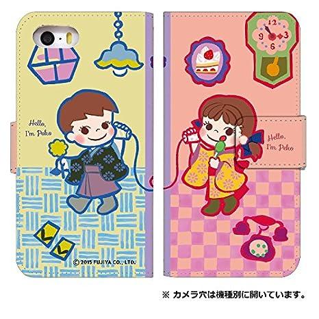 1bd31f90e6 スマホケース 手帳型 [Google Pixel3] ケース 手帳 かわいい ペコちゃん キャラクター お菓子 不二家