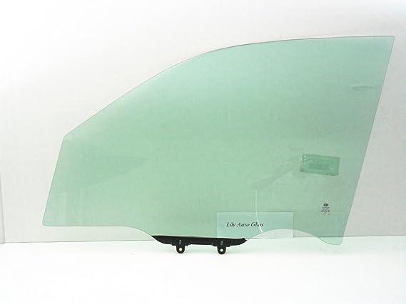 NAGD Driver Side Left Rear Door Window Glass Compatible with Honda Pilot 4 Door SUV 2009-2015