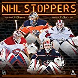 2019 NHL Stoppers Wall Calendar (English and French Edition)