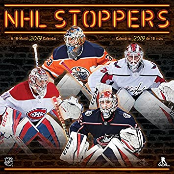 Nhl Stoppers 2019 Calendar Trends International Amazon Ca Office