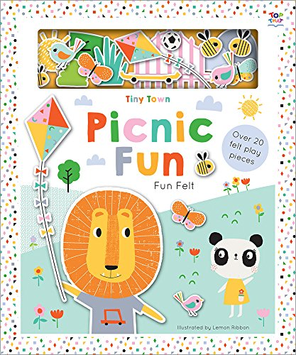 Tiny Town Picnic Fun (Soft Felt Play Books)
