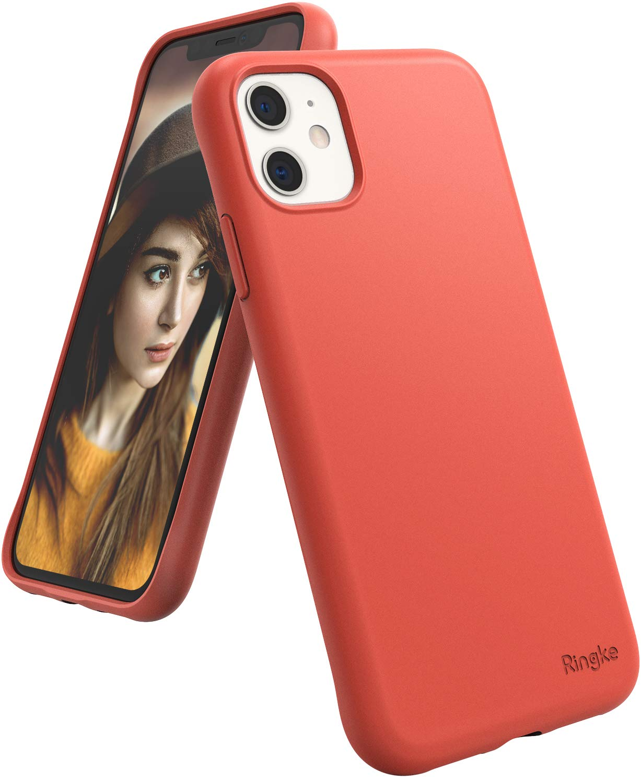 funda para iphone 11 Ringke Air-S Designed, coral