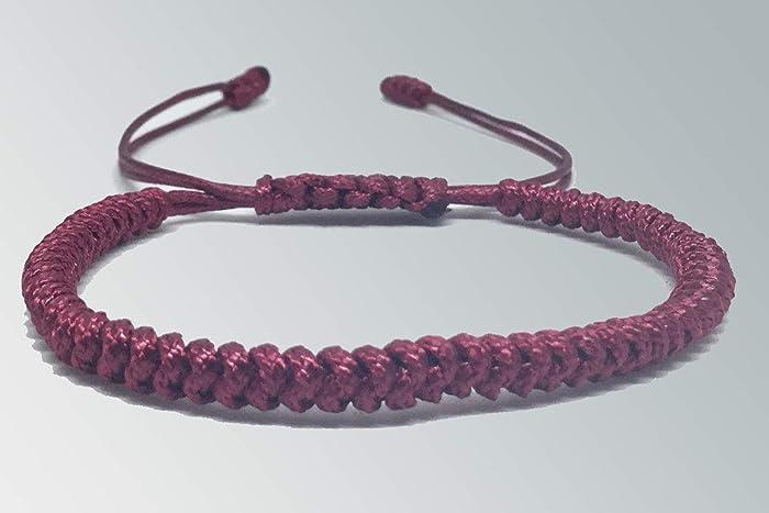 15ce766ff57f Pulsera tibetana individual Tinta  Amazon.com.mx  Handmade