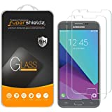 "[2-Pack] Supershieldz for Samsung ""Galaxy J3 Prime"" Tempered Glass Screen Protector, Anti-Scratch, Anti-Fingerprint, Bubble Free, Lifetime Replacement Warranty"