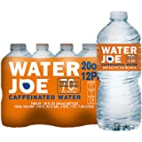 Water Joe | #1 Premium Caffeinated Water | 20 Oz, 12-Pack, 70mg Caffeine Enhancer | Sugar Free Substitute to Coffee, Soda, Energy Drinks and Avitae
