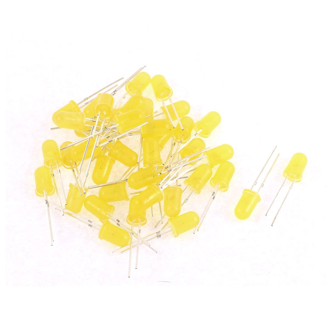 Image result for 5mm Yellow LED Light Emitting Diode