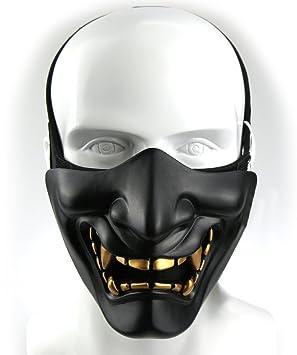 Airsoft máscara media cara para jóvenes niños rápido casco táctico máscara para Paintball BB Pistola CS