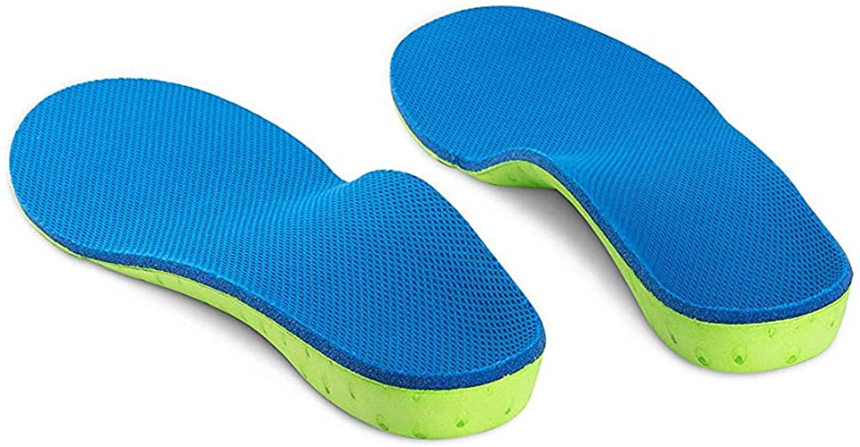 [WELSONPRO] インソール 扁平足矯正 アーチサポーター 足底筋膜炎 土踏まずサポーター 疲れにくい 中敷きクッション 衝撃吸収 О脚・Ⅹ脚矯正インソール 足裏サポーター