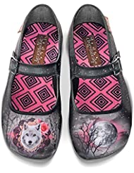 Hot Chocolate Design Chocolaticas Midnight Womens Mary Jane Flat
