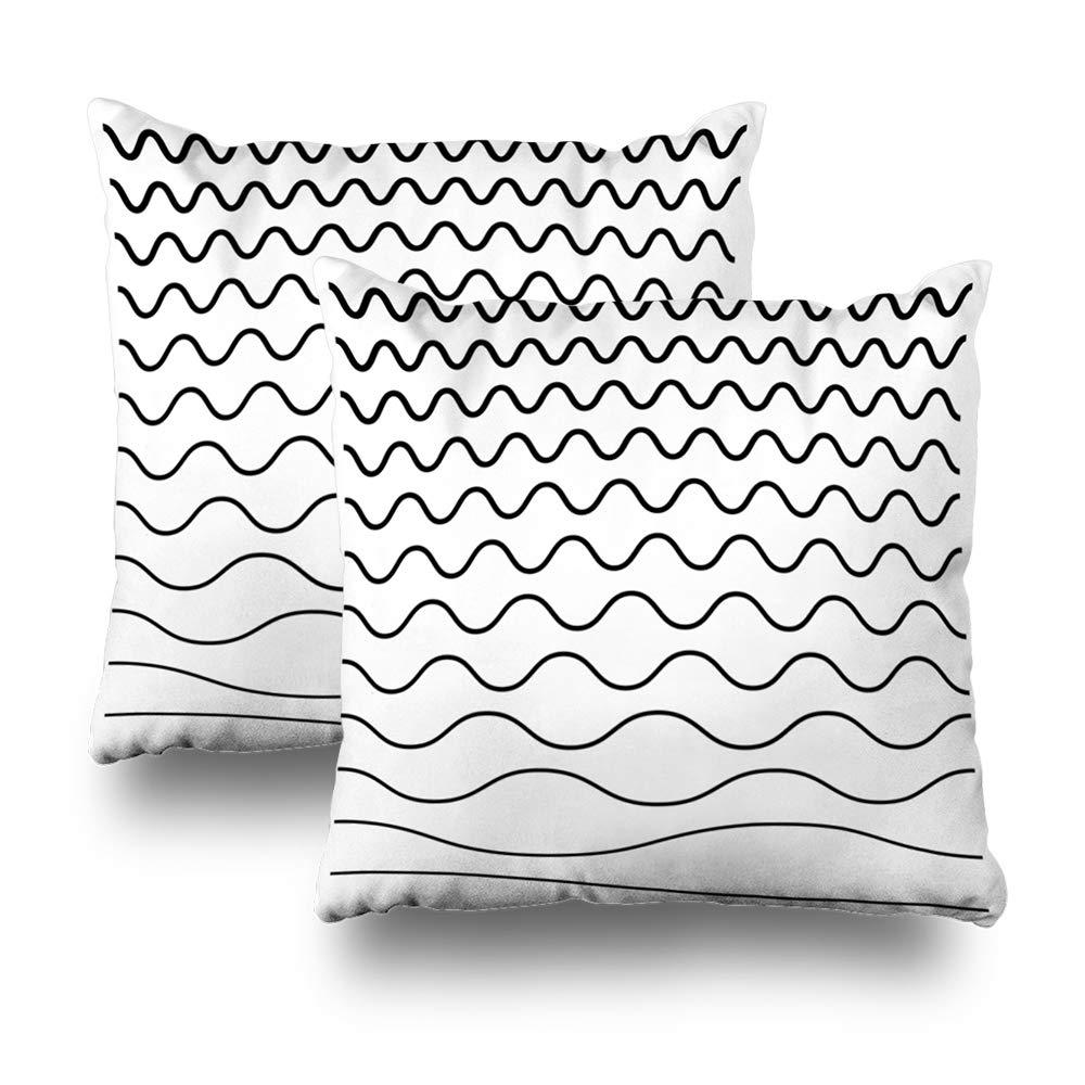 Amazon com: Kutita Set of 2 Decorative Pillow Covers 18 x 18