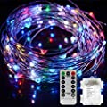 TIGERNU Copper String Light Waterproof Decorate for Outdoor/Bedroom/Patio Christmas/Festival/Wedding/Birthday/Party with RF Remote Control