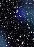 Lfeey 3x5ft Vinyl Thin Photography Background Stars In The Sky Night Scene Photo Backdrops Props for Studio