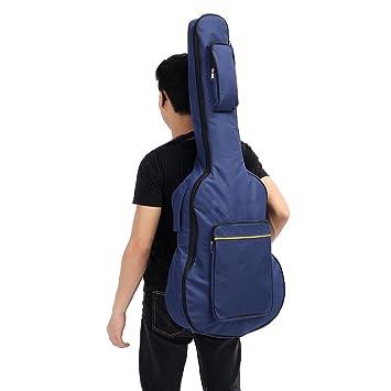 Grizack - Funda de Transporte para Guitarra acústica clásica (Doble Correa, 104,1 cm)