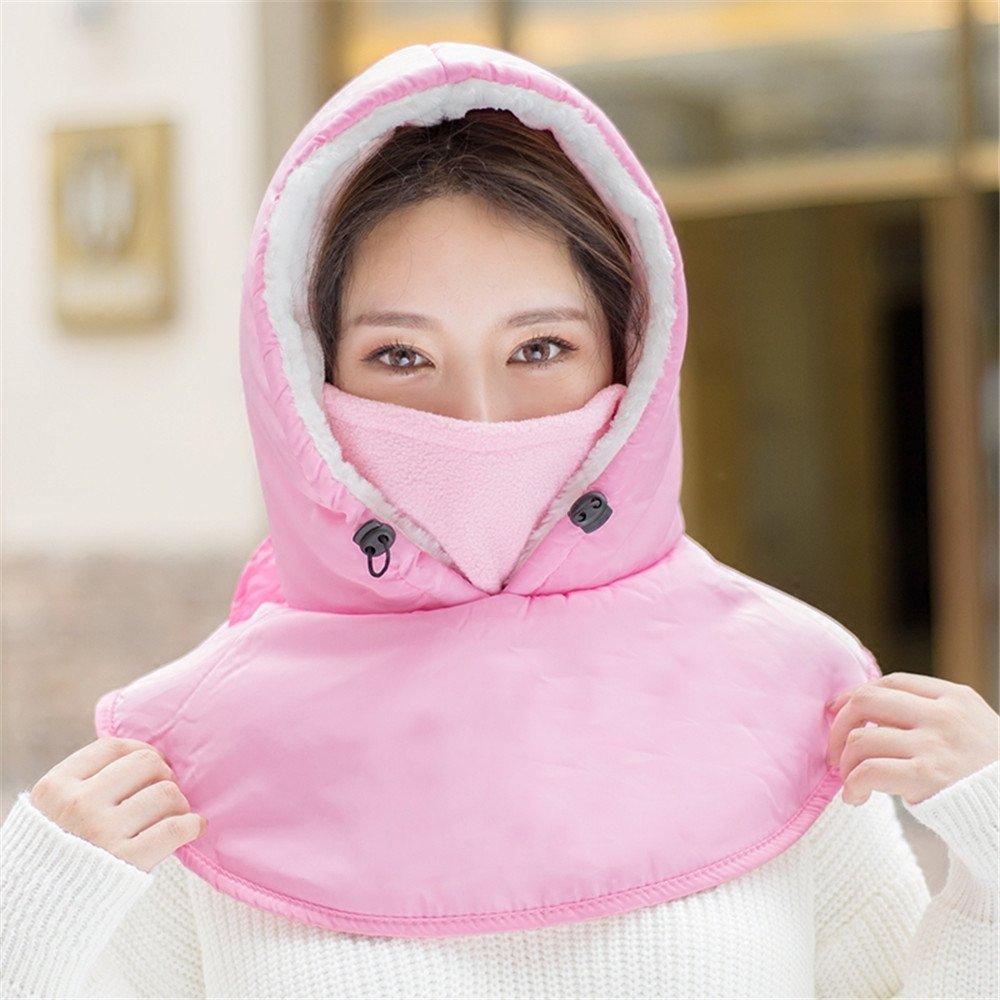 Al aire libre en invierno Riding Hat gorro oído femenino engrosamiento paraviento Sombrero de invier...