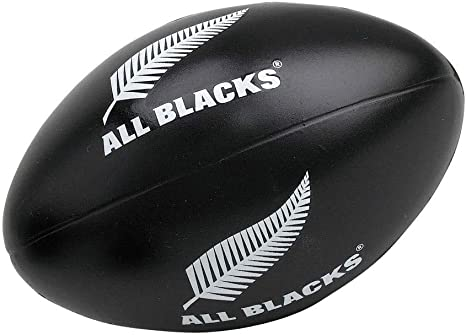 Pelota de rugby anti-stress Gilbert de Nueva Zelanda All Blacks ...