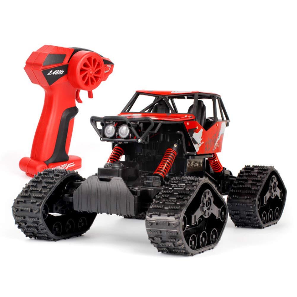 SHZJ Rote RC-Autos FüR Kinderspielzeug, 2,4 GHz 4WD-Hochgeschwindigkeits-Fahrzeug-Funkfernsteuerung Off-Road-Racing-Monster Trucks