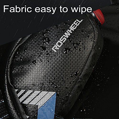 Roswheel Bicycle Saddle Bag Waterproof Cycling Rear Seat Tail Bag Under Seat