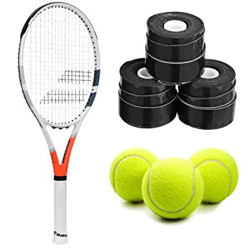 Amazon.com : Babolat Strike G (Game) Tennis Racquet Kit or ...