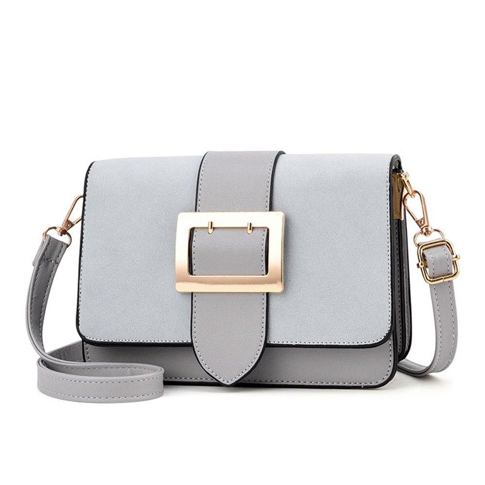 SJMM Neue Frau Tasche Fashion Bag geneigten Casual Bag, Grau, 22 X 15 X 10 cm