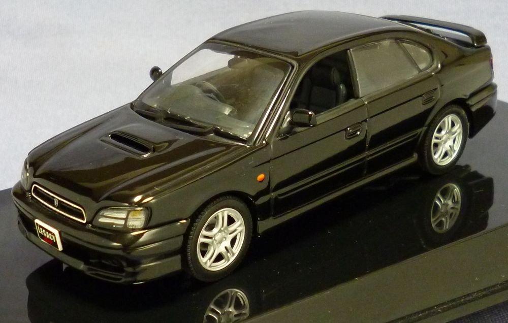 オートアート製 1/43 スバル レガシー B4 1999' ブラック 58613 B00SIWDG6C
