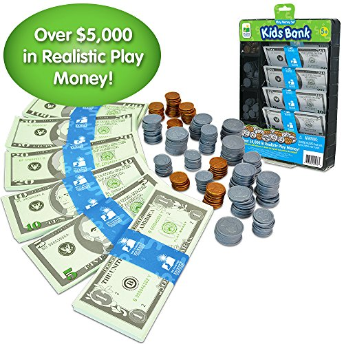 The Learning Journey Kids Bank, Play Money Set by The Learning Journey (Image #1)