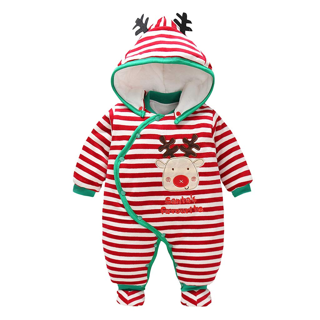 Baby Girls Boys Romper Thicken Snowsuit Spring Winter Infant Jumpsuits Outfit Vine Trading Co. Ltd B160805PF002745V