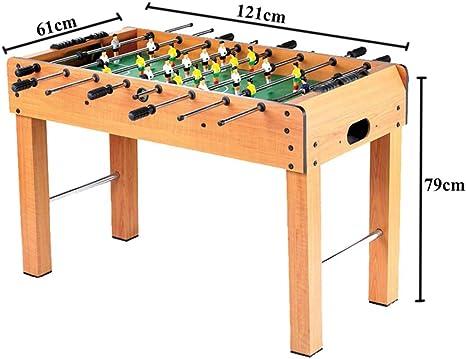 Lcyy-game Futbolín fútbol Sala de Juegos Juego de Mesa con piernas y 8 Palos: Amazon.es: Hogar